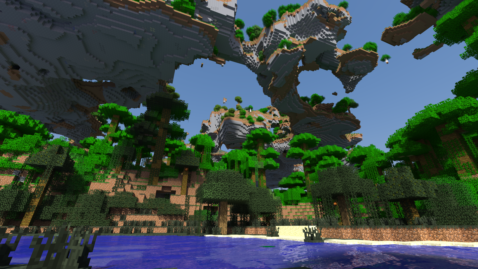 Popular Wallpaper Minecraft Forest - mortal_realm_1_6405  Perfect Image Reference_4590100.png