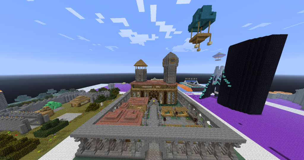 Minecraft RPG Server Build Competition